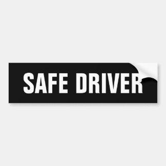 Conductor seguro pegatina para coche