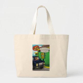 Conduzca a través de camisetas y de regalos divert bolsa tela grande