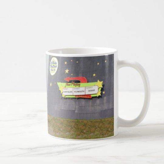 Conduzca adentro taza de café