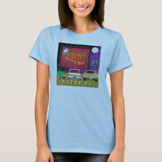 Conduzca en polluelo camiseta