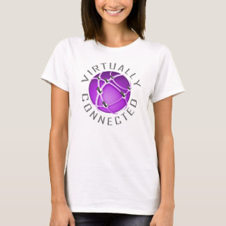 Conectado virtualmente camiseta