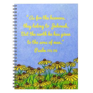 Conecte a tierra dado a los hijos del cuaderno de