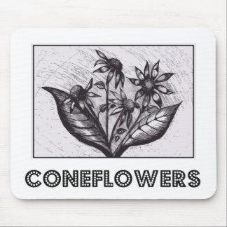 Coneflowers Alfombrilla De Ratón