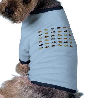 Conejillos de Indias Camiseta Con Mangas Para Perro
