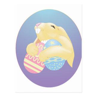 Conejito de Eggy Postal