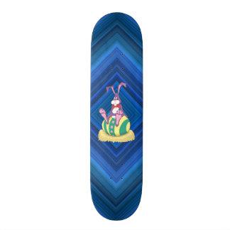 Conejito de Jus Chillin pascua en el huevo adornad Tabla De Skate