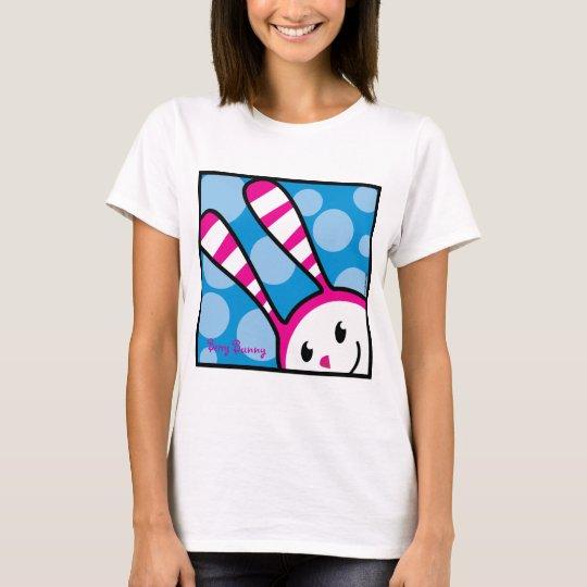 Conejito de la baya - peekaboo camiseta
