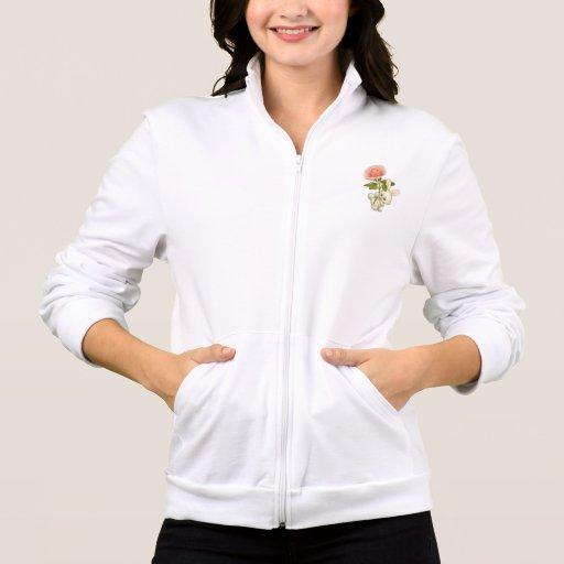 Conejito de pascua de la chaqueta de las señoras