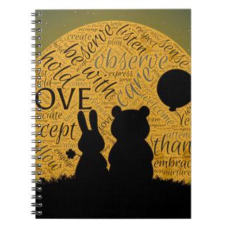 Conejito del amor cuaderno