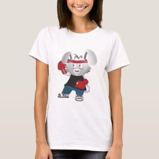 Conejito del boxeo camiseta