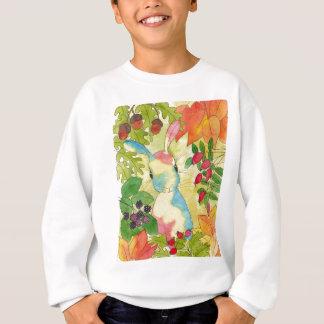 Conejito del otoño por arte de la hierbabuena sudadera