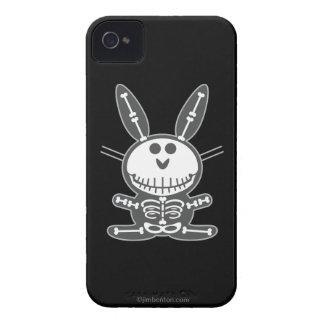 Conejito esquelético Case-Mate iPhone 4 funda