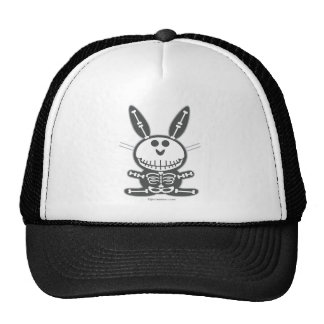 Conejito esquelético gorras de camionero