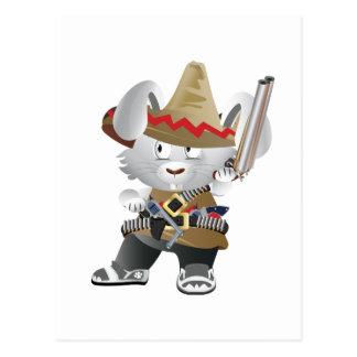Conejito mexicano del bandido postal