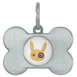 Conejito Placas Mascota