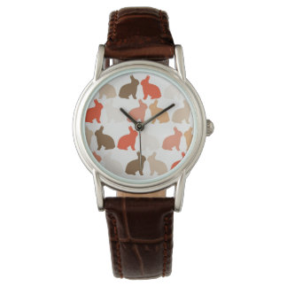 Conejitos de pascua reloj de pulsera