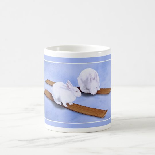 Conejitos del esquí… taza de café