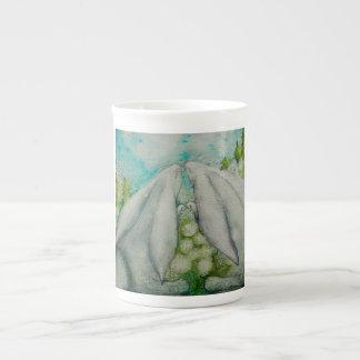 Conejitos en amor taza de té