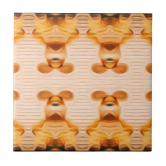 Conejitos Trippy Azulejo De Cerámica