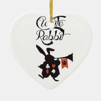 Conejo blanco Alicia en el país de las maravillas Adorno Para Reyes