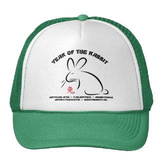 Conejo chino del Año Nuevo Gorro