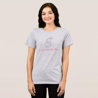 Conejo con la cinta para la camisa de la