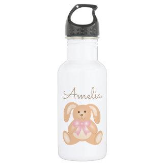 Conejo de conejito adorable dulce femenino lindo botella de agua