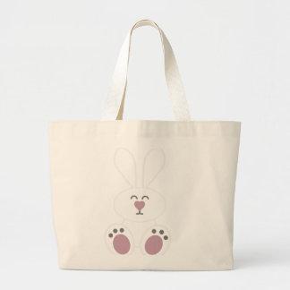 Conejo de conejito blanco lindo bolsas