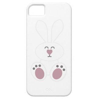 Conejo de conejito blanco lindo iPhone 5 funda