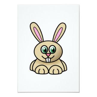Conejo de conejito del dibujo animado comunicado personal