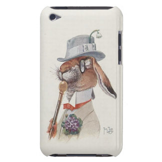 Conejo de conejito divertido del vintage - lindo iPod touch Case-Mate cárcasas