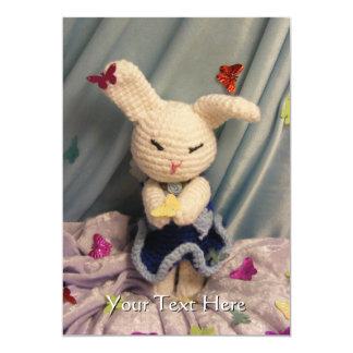 Conejo de conejito lindo de Amigurumi Anuncios Personalizados