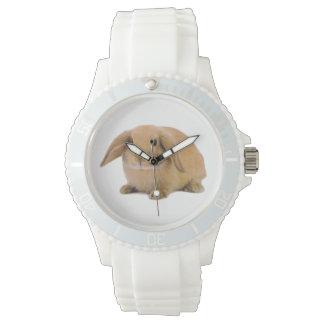 Conejo de conejito lindo de Kawaii Lop Relojes De Mano