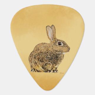 Conejo de oro uñeta de guitarra