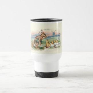 Vintage 4 taza jarra con escariador