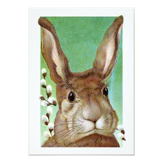 Conejo de Pascua Invitación 12,7 X 17,8 Cm
