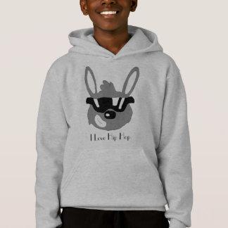 Conejo del dibujo animado con las gafas de sol
