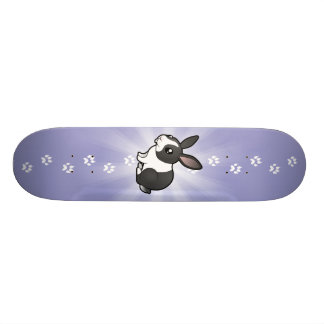 Conejo del dibujo animado (pelo liso del oído tabla de skate