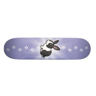 Conejo del dibujo animado (pelo liso del oído uppy tabla de skate