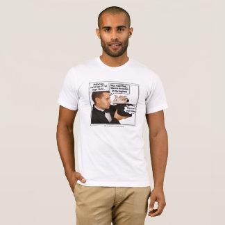 Conejo en el mago Meme del gorra Camiseta