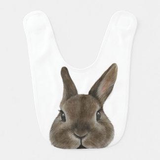 Conejo enano de Netherland, pintura original por Babero
