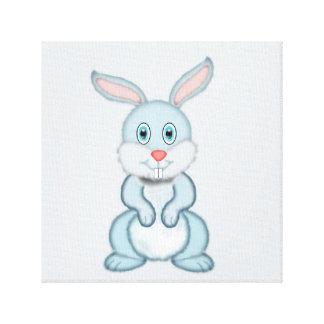 Conejo Impresión En Lienzo