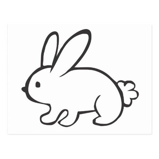 Dibujo fácil de una conejo - Imagui
