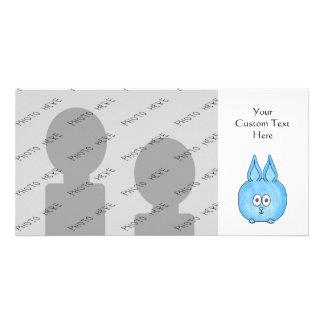 Conejo lindo del bebé tarjeta fotografica