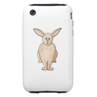Conejo lindo iPhone 3 tough cobertura
