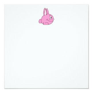 Conejo rosado comunicados personalizados