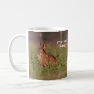 Conejo salvaje taza de café