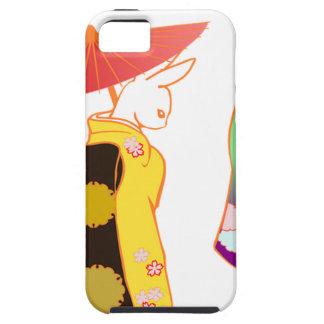 Conejos de conejito japoneses funda para iPhone SE/5/5s