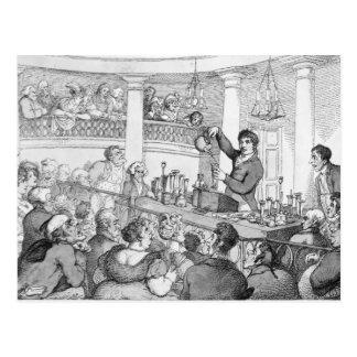 Conferencias químicas, c.1809 postal