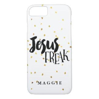 Confeti anormal del reflejo del oro de Jesús Funda iPhone 7